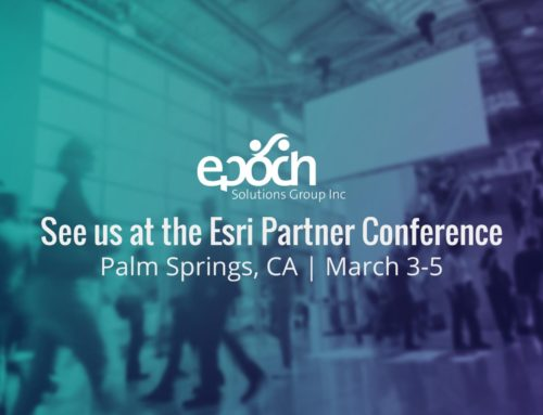 Epoch Solutions Group Attending Esri Partner Conference