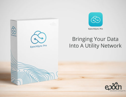 EpochSync Pro can get your data into a Utility Network!